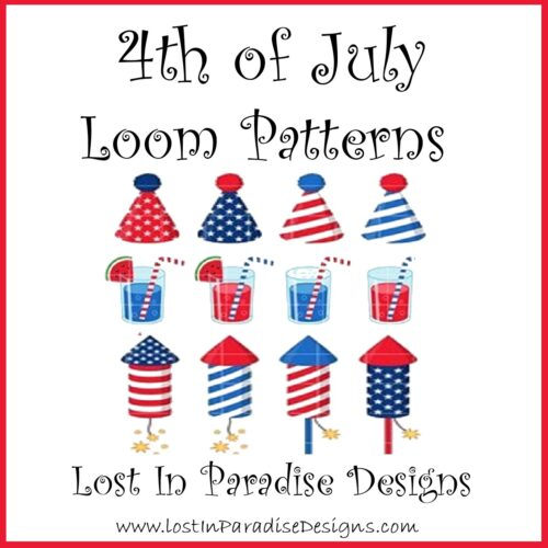 4TH OF JULY PATTERNS BEAD LOOM