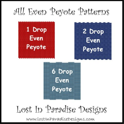 ALL EVEN PEYOTE PATTERNS