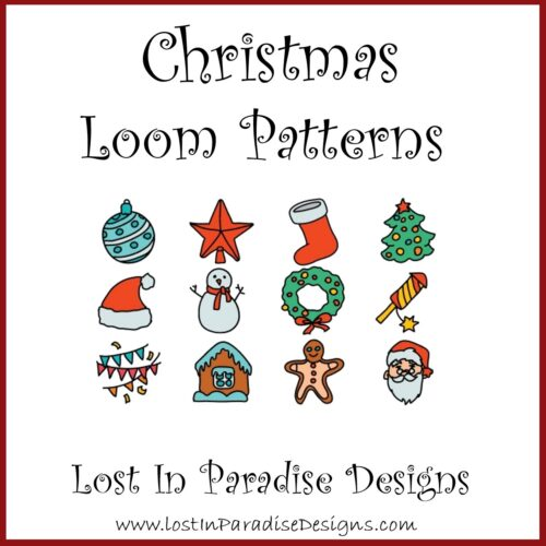 CHRISTMAS PATTERNS BEAD LOOM