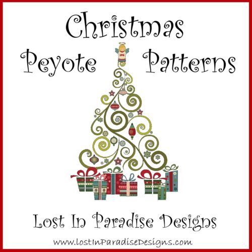 CHRISTMAS PATTERNS PEYOTE STITCH