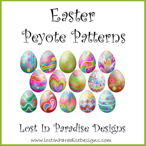 EASTER PATTERNS PEYOTE STITCH