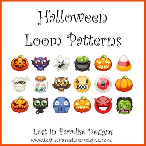 HALLOWEEN PATTERNS LOOM