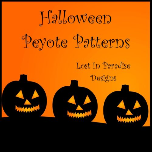 HALLOWEEN PATTERNS PEYOTE STITCH